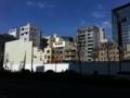 撤去中の九段下ビル / Kudanshita Building under demolition, Tokyo
