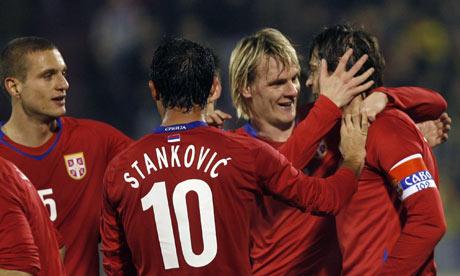 サッカーセルビア代表は落ちぶれ...