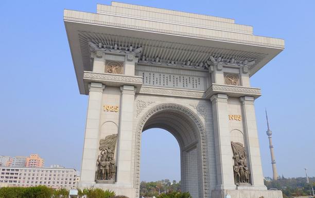北朝鮮凱旋門