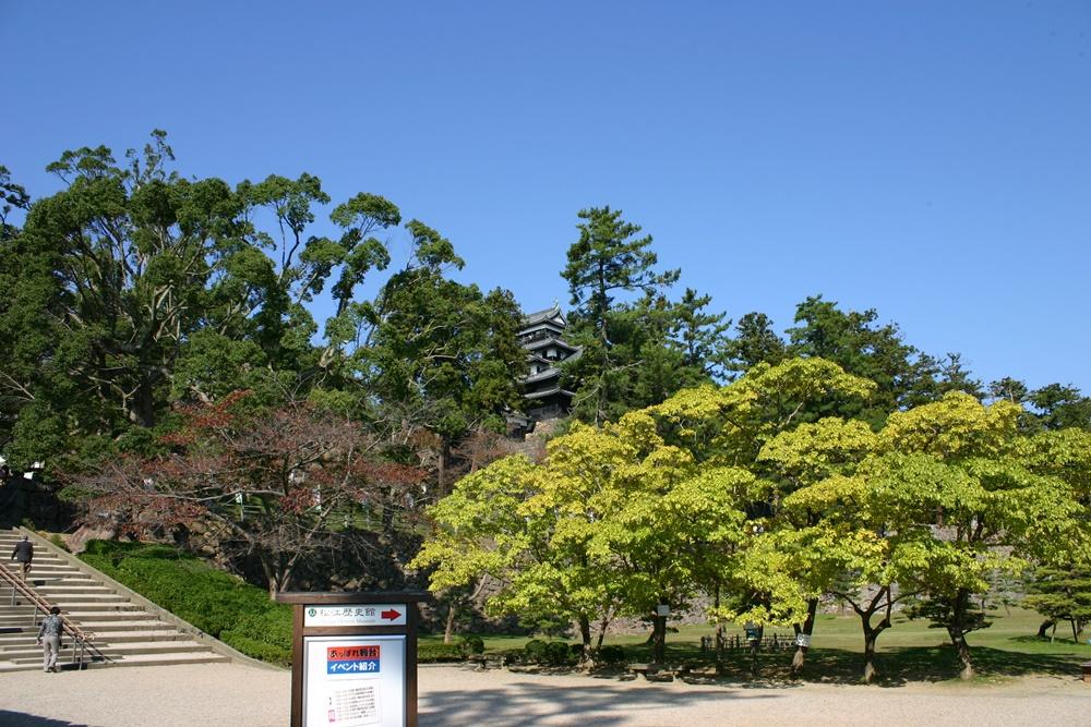松江城の本丸