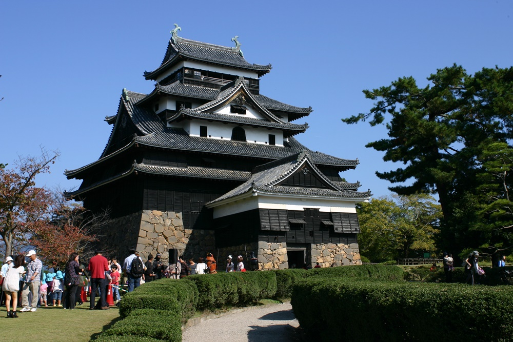 松江城の天守