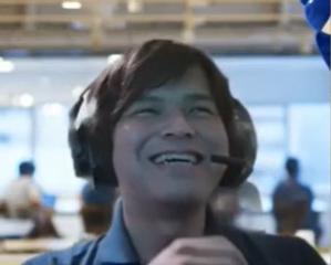 終始笑顔のnomuさん QAチームとの仲の良さが伝わってきます