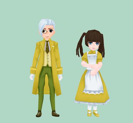 ルグデル風の服・芥子