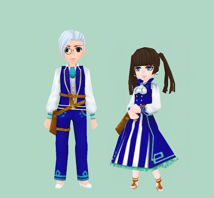 鮮やかな既婚者の服