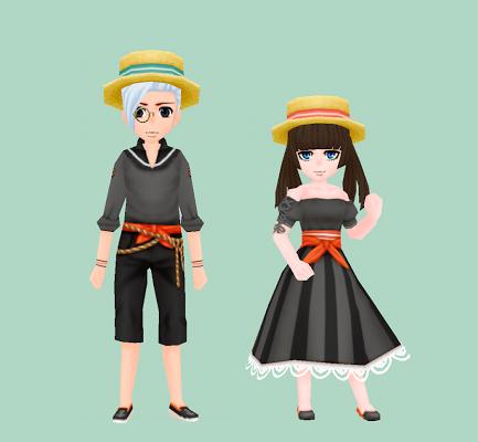 漁師の服・黒