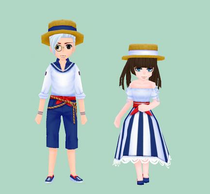 漁師の服・紺