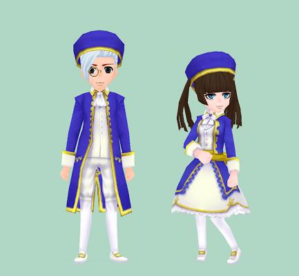 ナルル王国宮廷服
