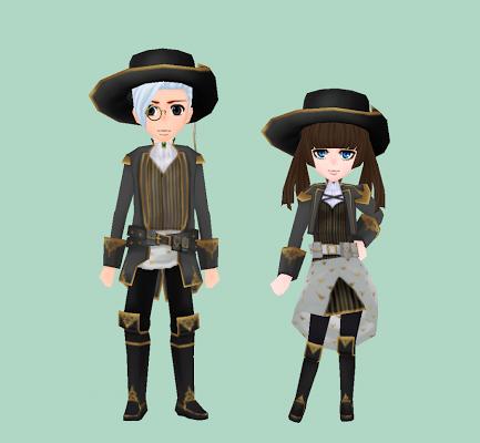 黒銀の魔銃師制服