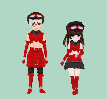 ドルムの紅革鎧