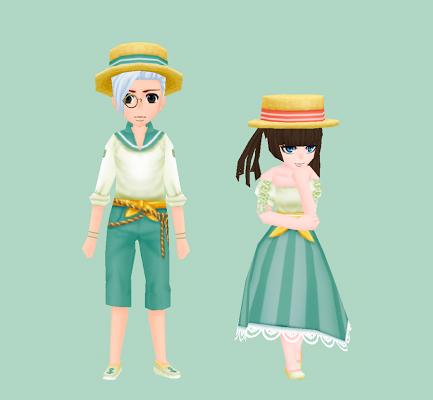 漁師の服・碧