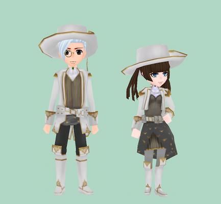 銀白の魔銃師制服