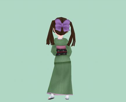 藤紫のリボン