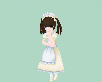 ホワイト・ヘッドドレス