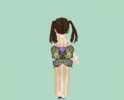揚羽蝶の羽