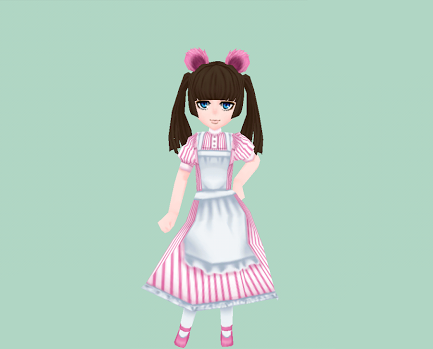 くまみみ・ピンク