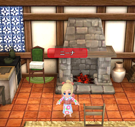 飾り椅子・タオル(★1)