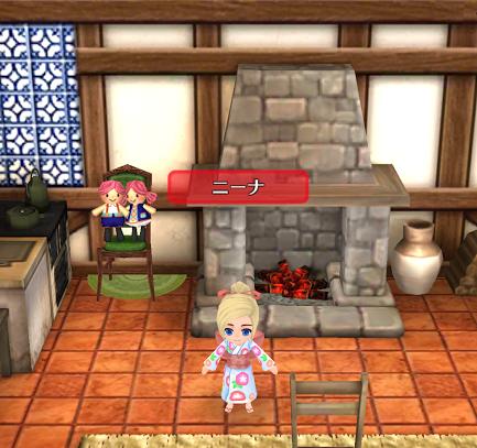 飾り椅子・人形(★1)