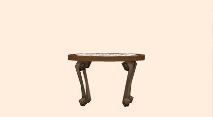 サイドテーブル・レース(★2)