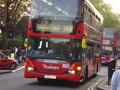 バス。運転荒いよ。