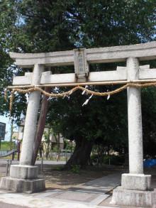 恵美の幕末日記~歳さんに想いを馳せて~-石明神社