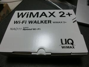 ラクーポンで 旧WiMAXを利用している人は乗換え …