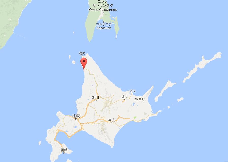 北海道天塩町の地図