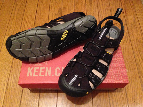 KEEN CLEARWATER CNX 前から