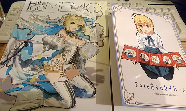 Fate GO MEMO、Fate充するセイバーさん