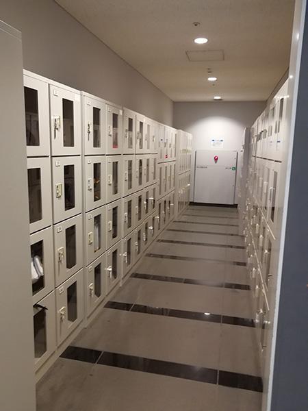 日本科学未来館 ロッカー