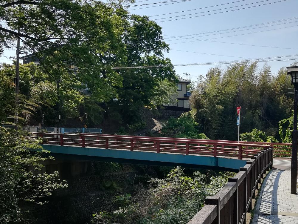 犬山城までの道