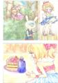 Alice絵本 1,3