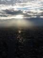 光の道と街