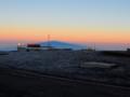 マウナ・ケア山の影