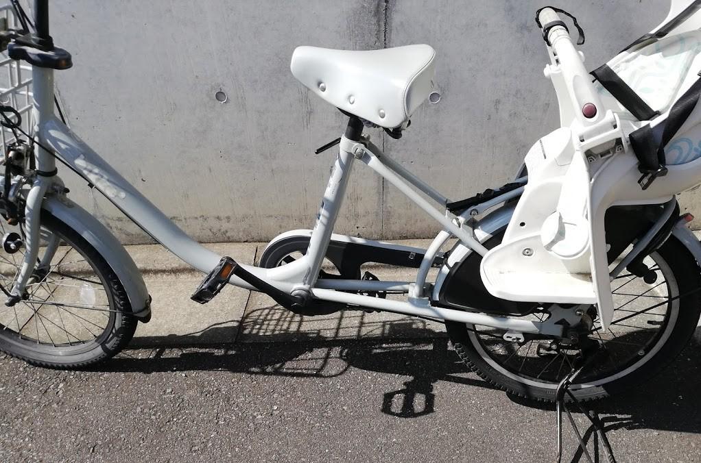 修理後の自転車