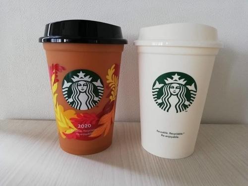 2種類のリユーザブルカップ
