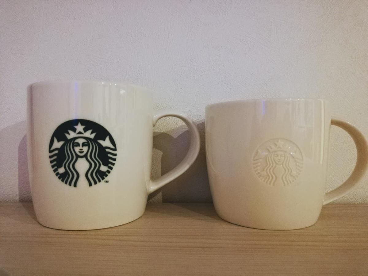 スタバマグカップ2個