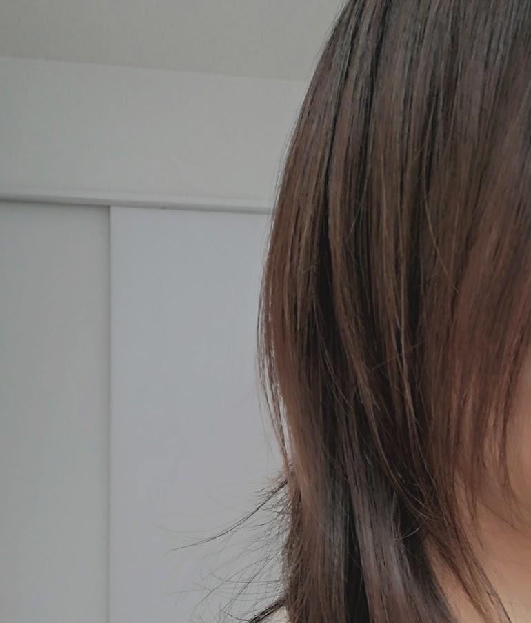 寝起き後の髪の状態