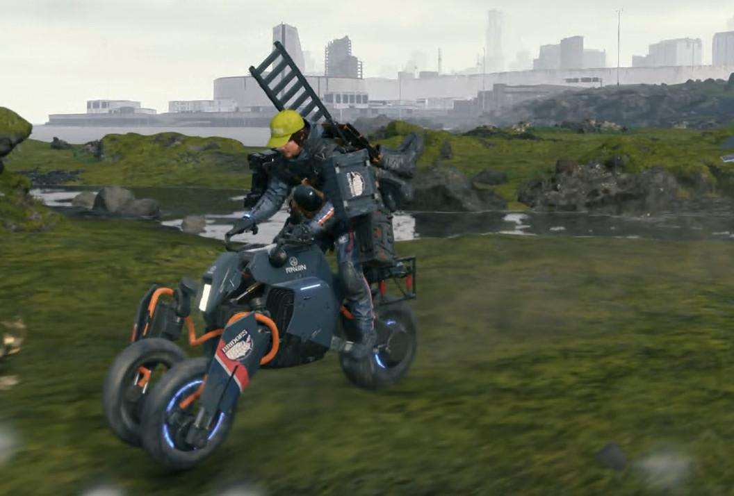 デス スト ランディング バイク 壊れ た