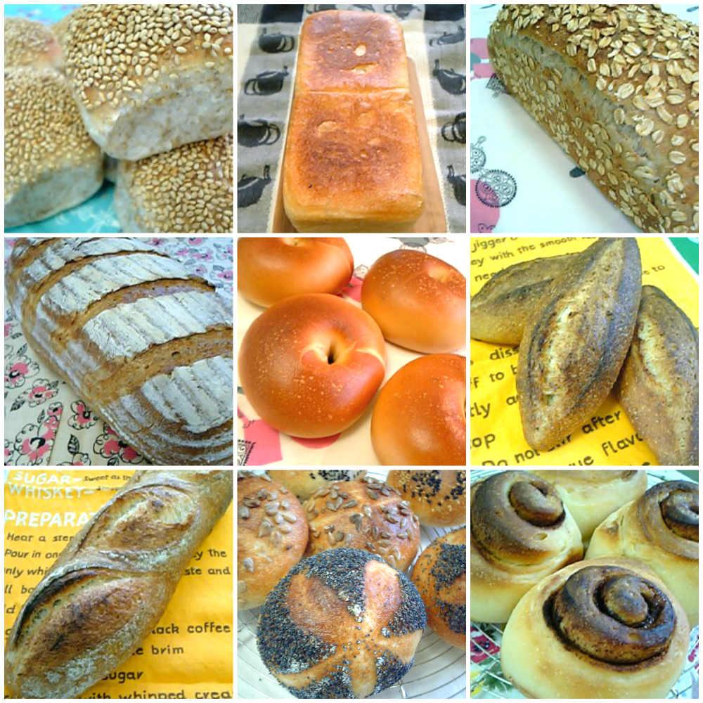 昔作った天然酵母パン