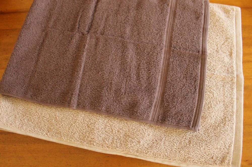 タオルのサイズ比較