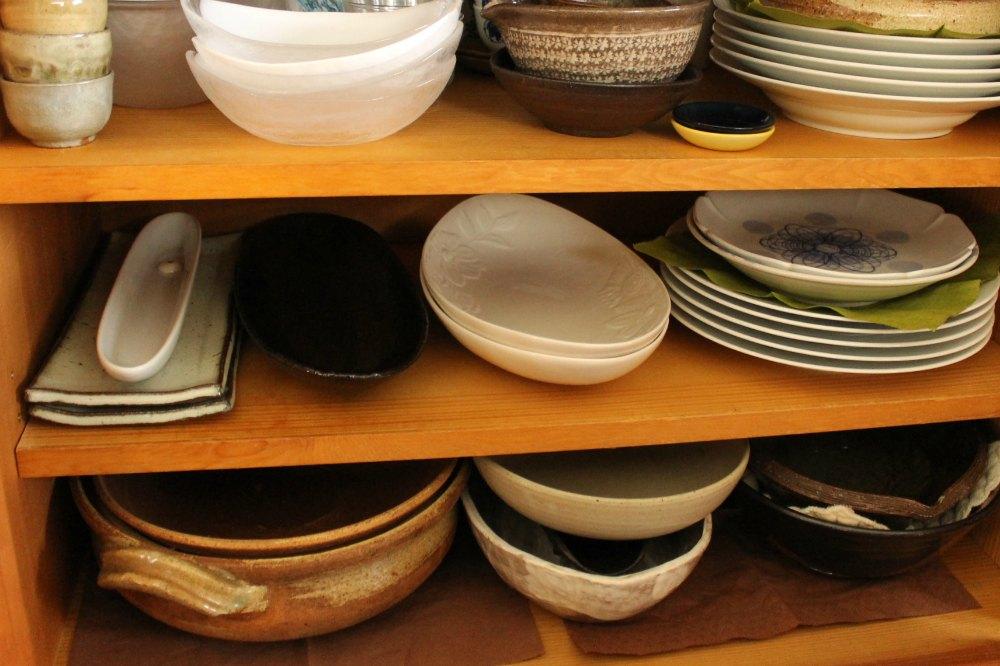 使いづらい食器棚