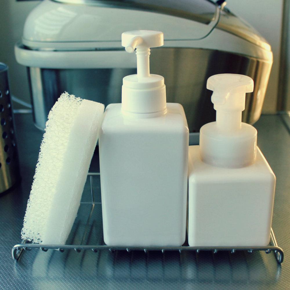 食器洗剤とハンドソープ