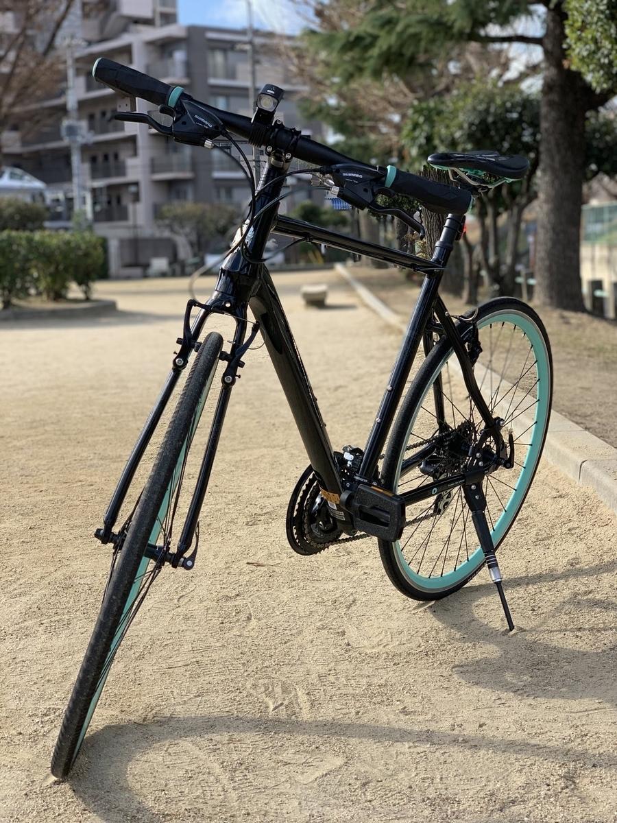 ビアンキのローマ4(クロスバイク)