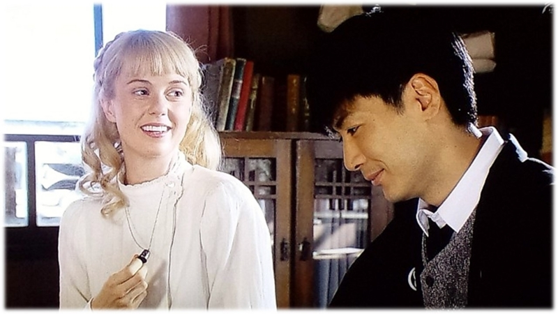 マッサン 今、エリーの首にはその指ぬきのネックレスが掛かっています。