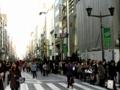 [tokyo][ginza][東京][銀座]H&Mの行列