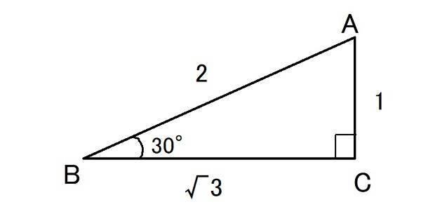 三角比sin30°