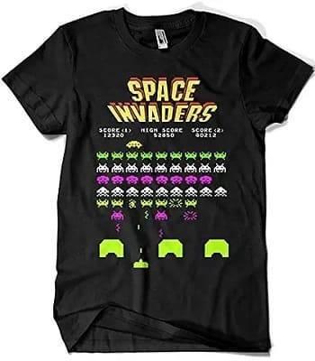 スペースインベーダーのTシャツ