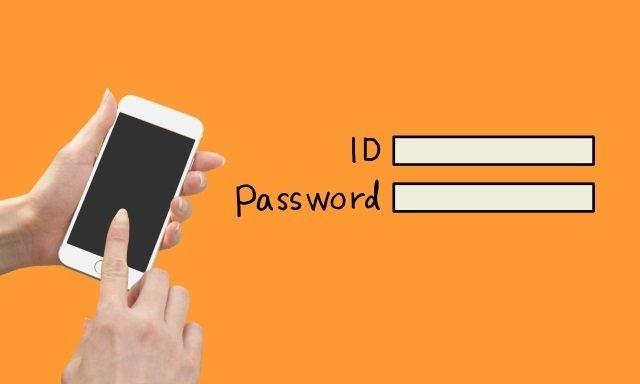 パスワード入力が打ち間違いか確認する方法