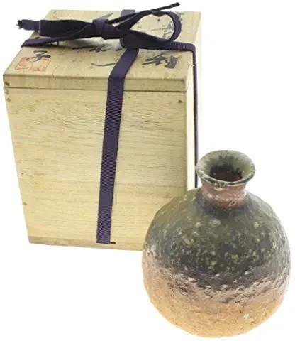 神山清子、自然釉、徳利
