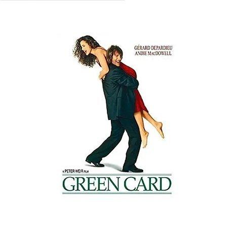 恋愛映画『グリーン・カード』あらすじ!温室のあるアパートに住みたいから,偽装結婚?隠れた名作